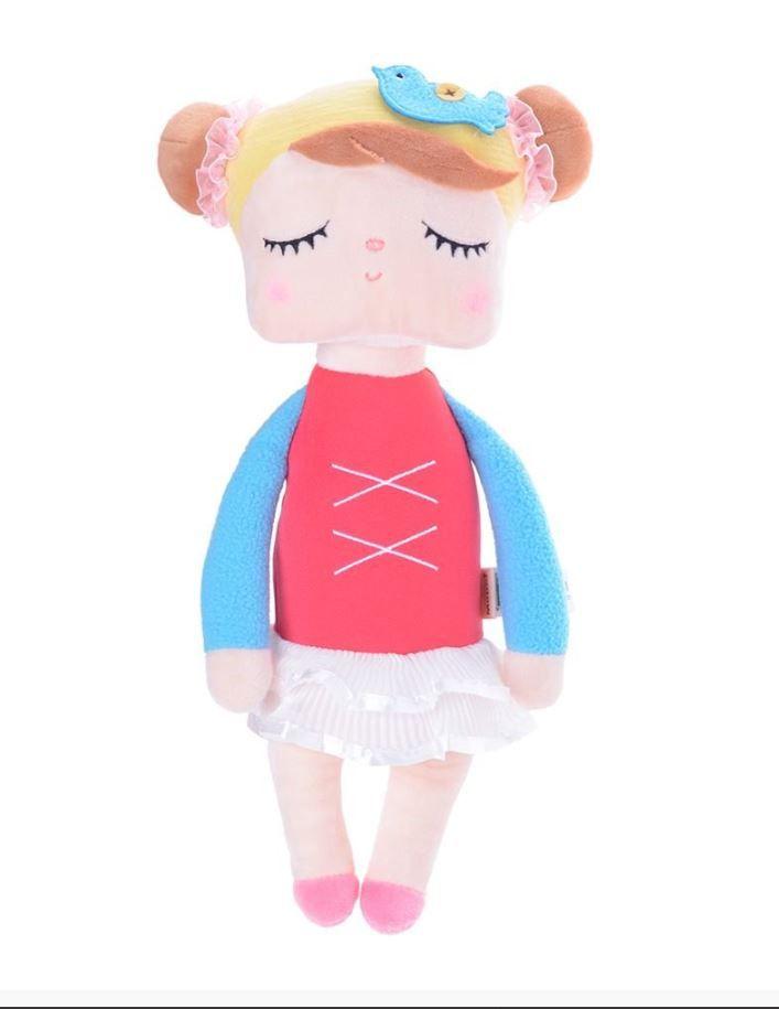 Boneca Metoo Angela Bailarina Vermelha - Bup Baby Ref 2026