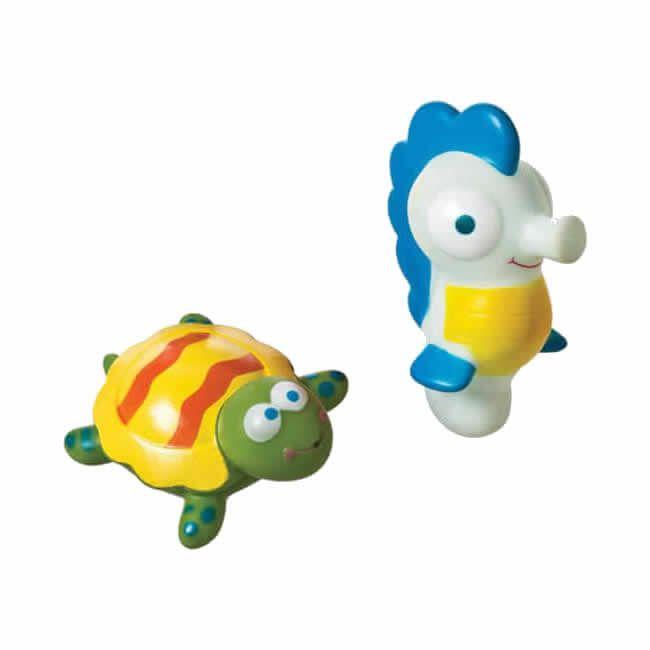 Brinquedos de Banho Tartaruga e Cavalo Marinho - Girotondo