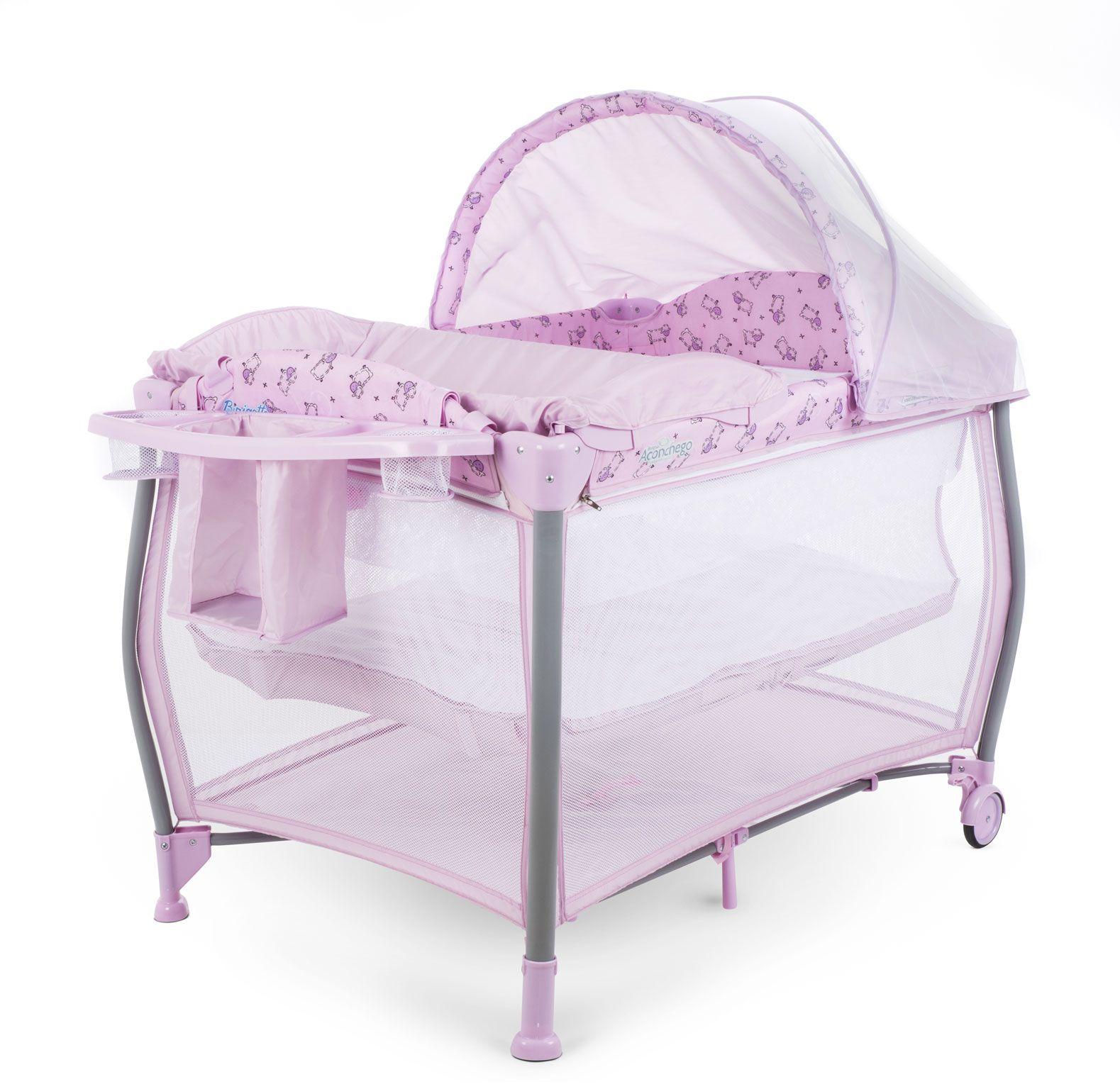 Berço Aconchego Pink - Burigotto Ref 5110