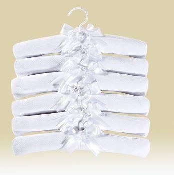 Cabide Luxo Branco - Batistela Ref 02519