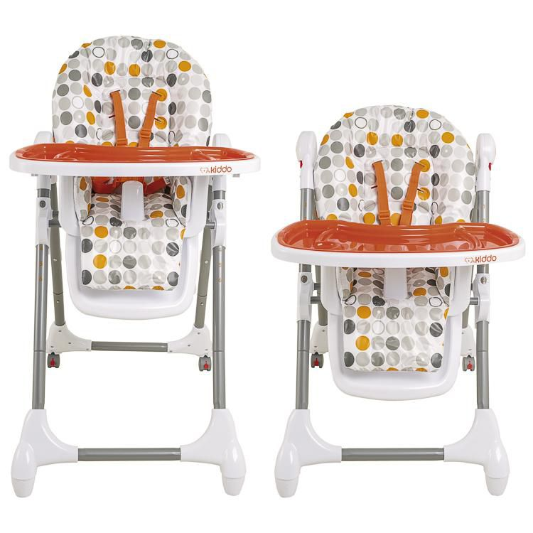 Cadeira Alimentação Snack Laranja - Kiddo