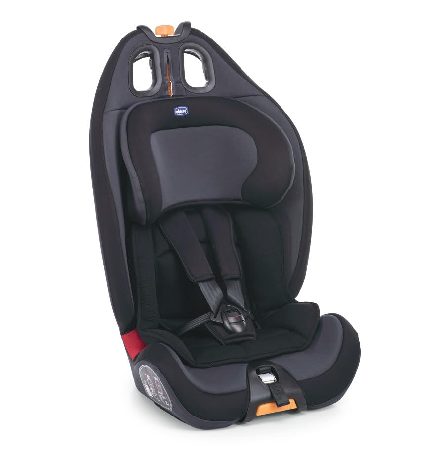 Cadeira Auto Gro up 123 Black Night - Chicco