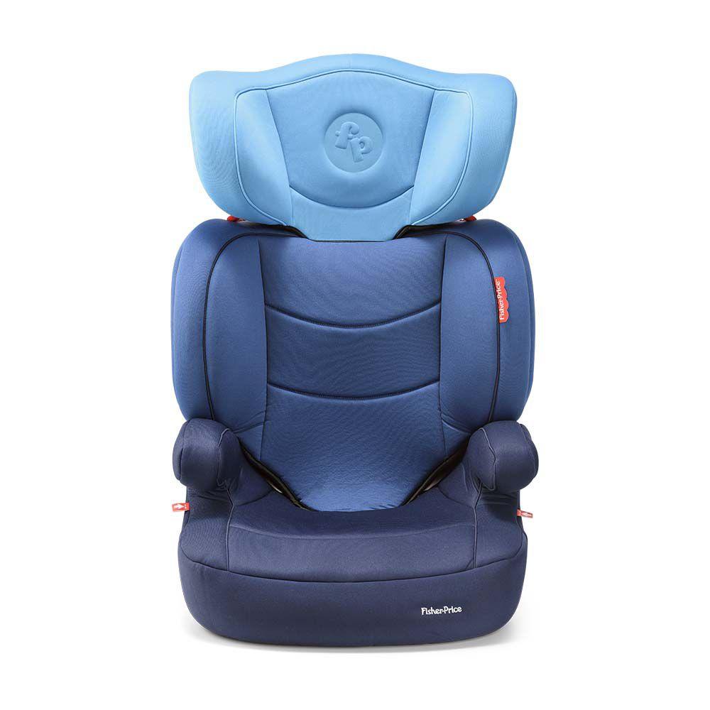 Cadeira Auto Highback Fix 15 36kg Azul - Fisher Price Bb570