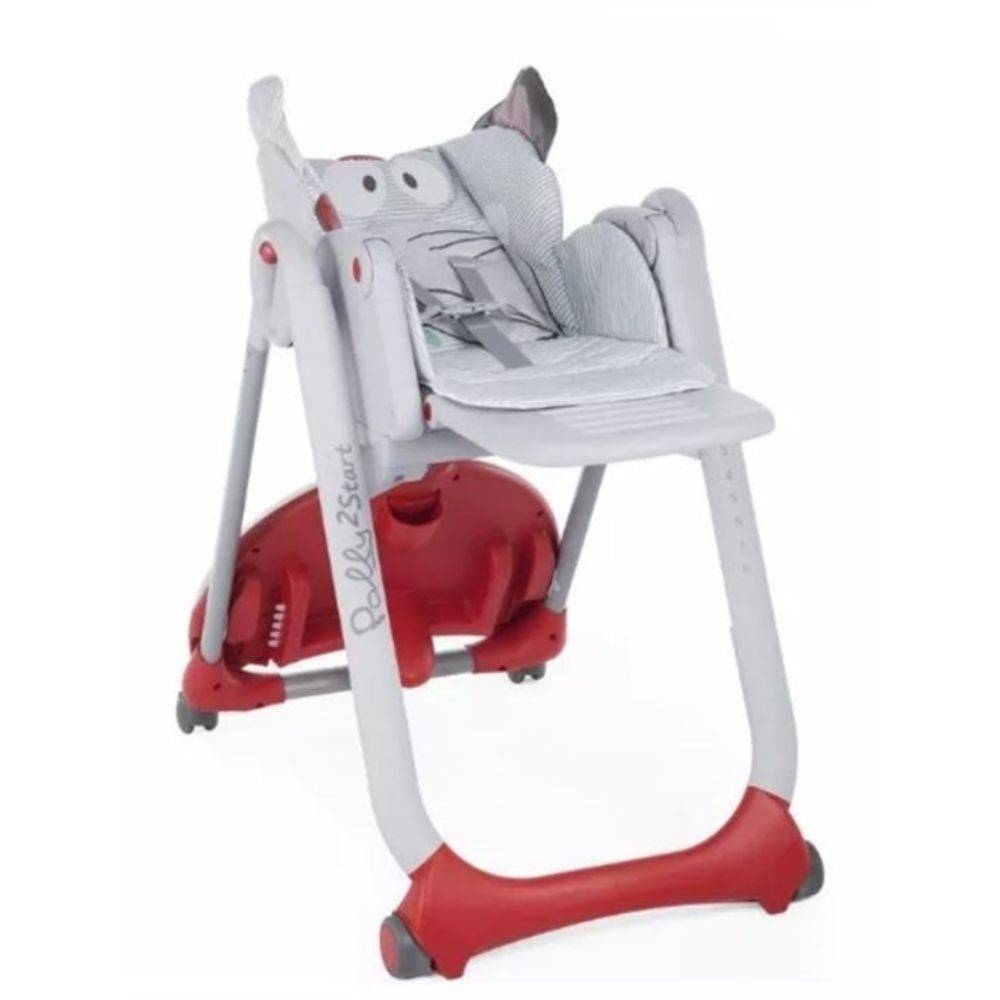Cadeira de Papa Polly 2 Start Baby Elephant - Chicco