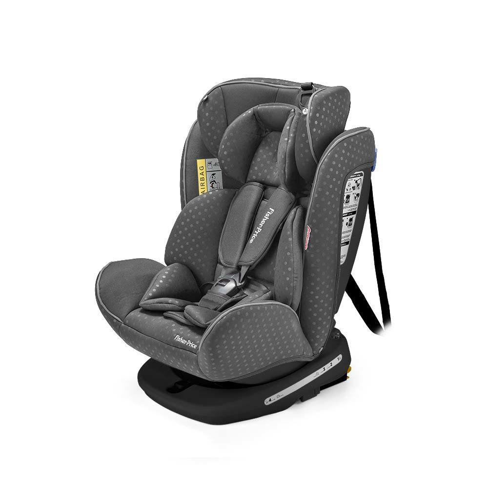 Cadeira Auto Easy 360 Fix 0-36kg Cinza - Fisher Price