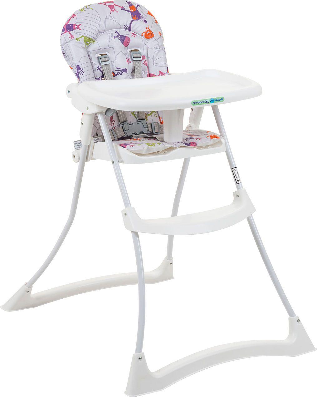 Cadeira Refeição Bon Apetit xl Monstrinhos - Burigotto Ref 3045