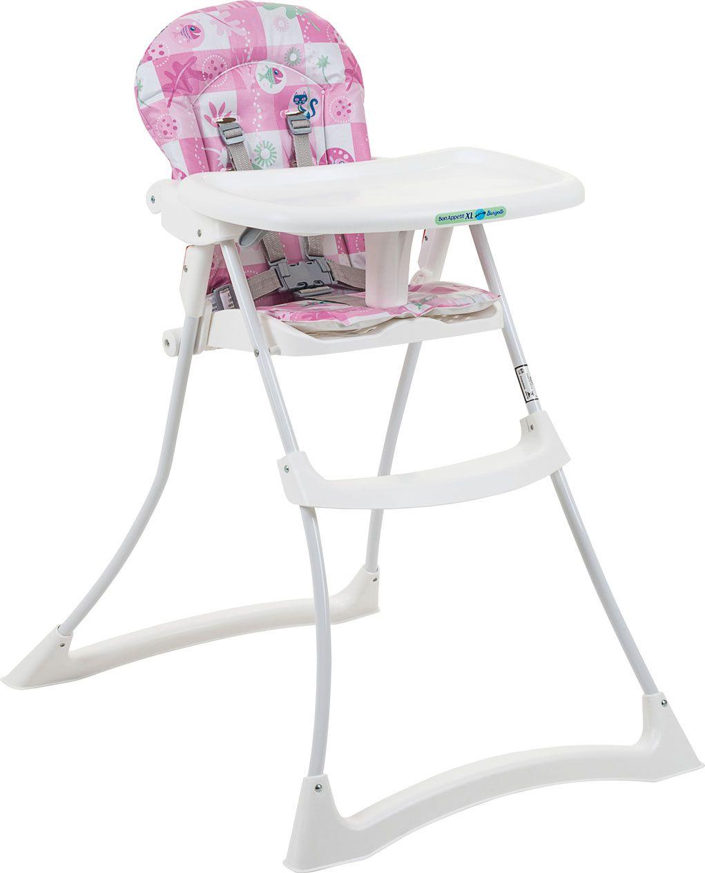 Cadeira Refeição Bon Apetit xl Peixinhos Rosa - Burigotto Ref 3045