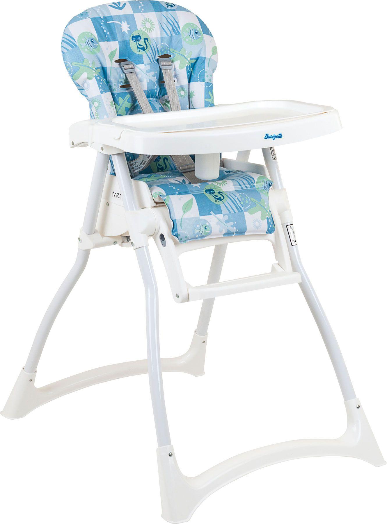 Cadeira Refeição Merenda Peixinho Azul - Burigotto Ref Imsmerpeixazul