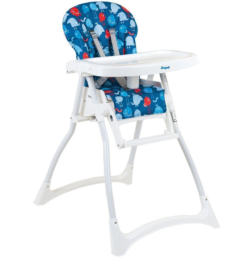 Cadeira Refeição Merenda Passarinho Azul - Burigotto Ref Imsmer Passazul