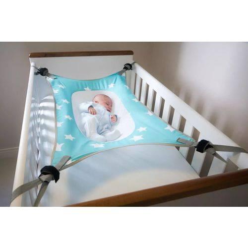Cama Segura Bebê Verde Água - Primeiro Sono Baby Pil Ref 060