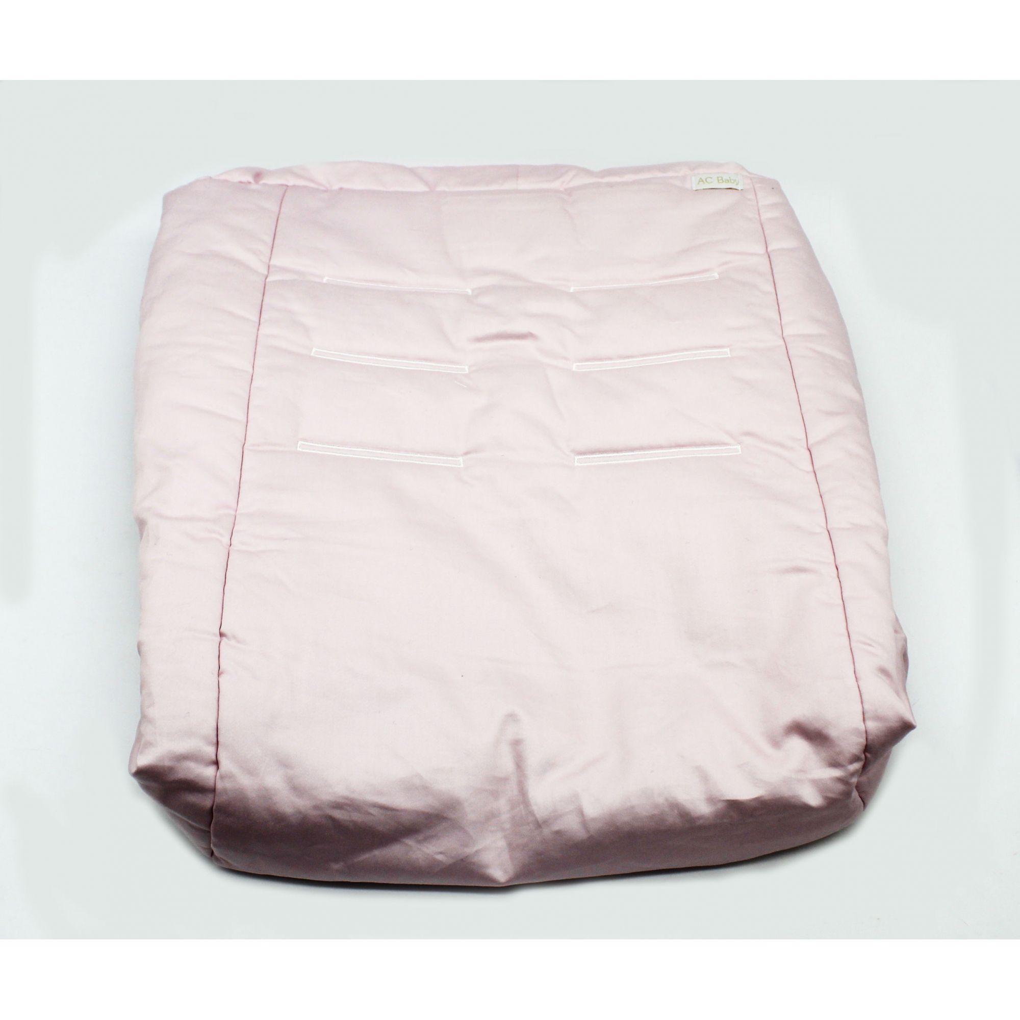 Capa de Bebe Conforto Tricoline Rosa Quartzo 400 Fios - Ac Baby Ref 06248 86U