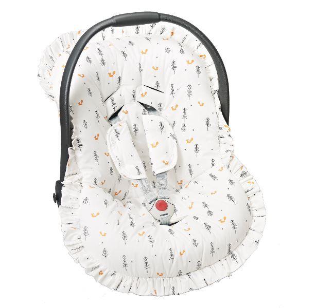 Capa Para Bebê Conforto Raposa - Batistela Ref 02063