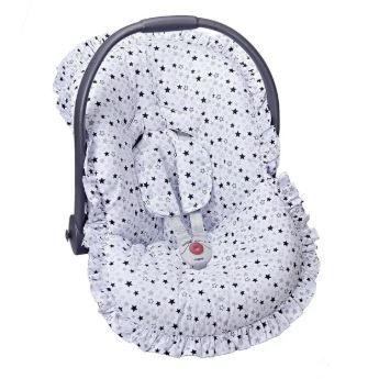 Capa Para Bebê Conforto Estrela Azul - Batistela Ref 02063