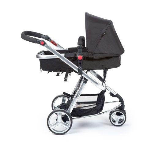 Carrinho Travel System Mobi Black Silver Safety 1st - Dorel Ref T5003ts