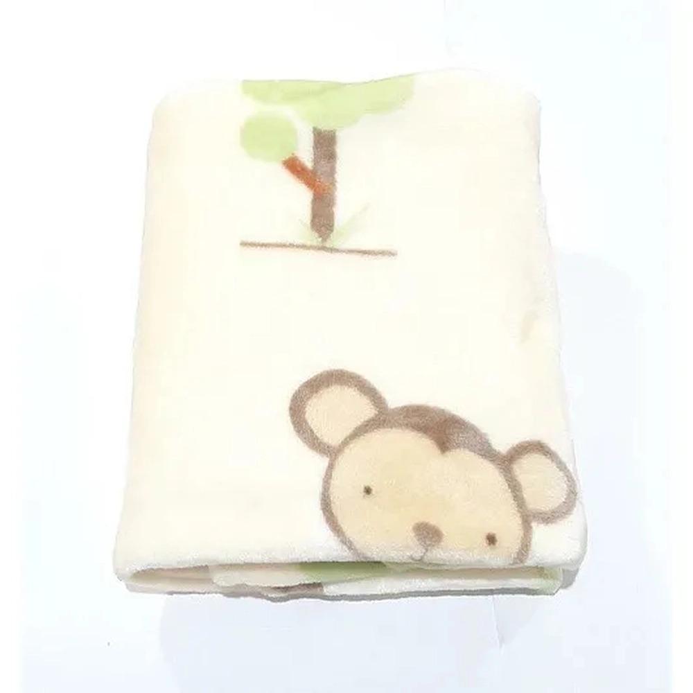 Cobertor Baby Flannel Amarelo Safari - Etruria