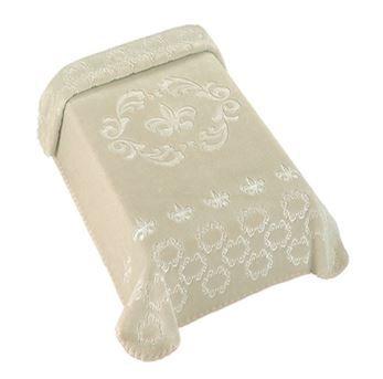 Cobertor Exclusive Royale Bege - Colibri