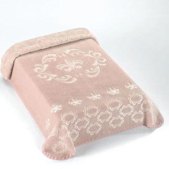 Cobertor Exclusive Royale Rosa - Colibri Ref 46798