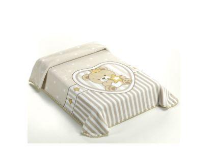 Cobertor le Petit Superstar Bege - Rachel Colibri Ref 46803