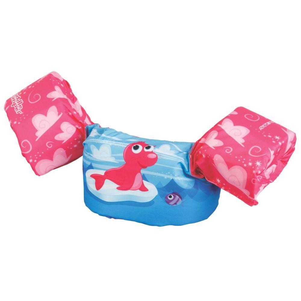 Colete Salva Vidas Foca Rosa Puddle Jumper - Bup Baby