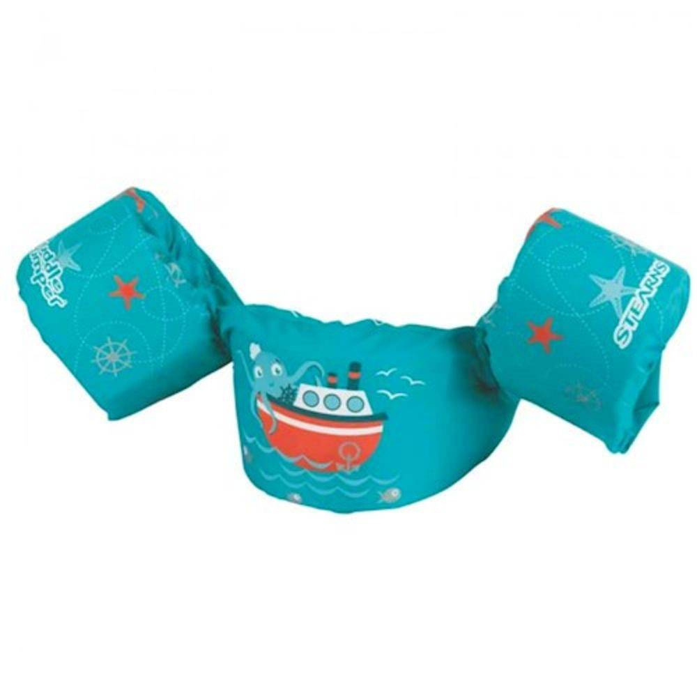 Colete Salva Vidas Navio Verde Puddle Jumper - Bup Baby