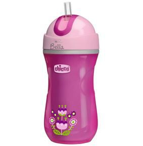 Copo Sport Cup 14m+ Flores Rosa - Chicco Ref 00006991100000