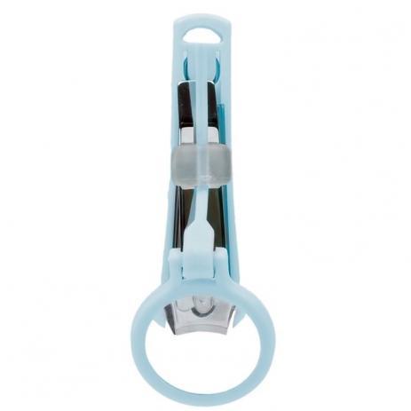 Cortador Unha Com Lupa Azul - Buba  Ref 7555