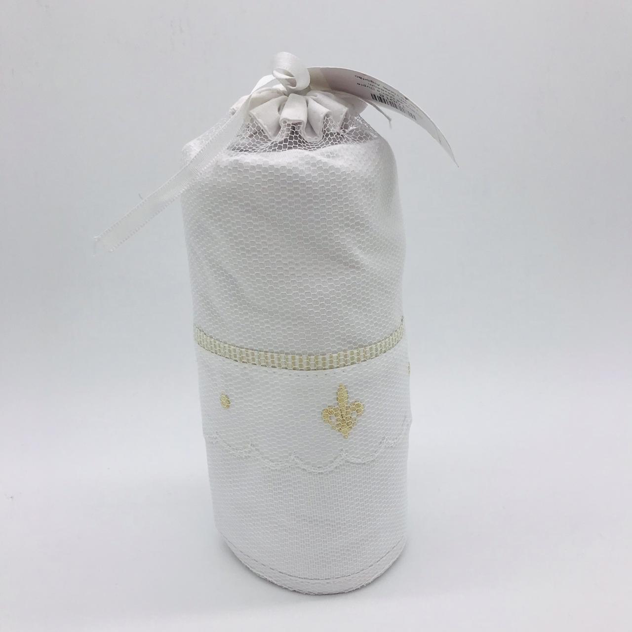 Cueiro de Malha Dupla Arabesco Bege - Kidstar  Ref 10018