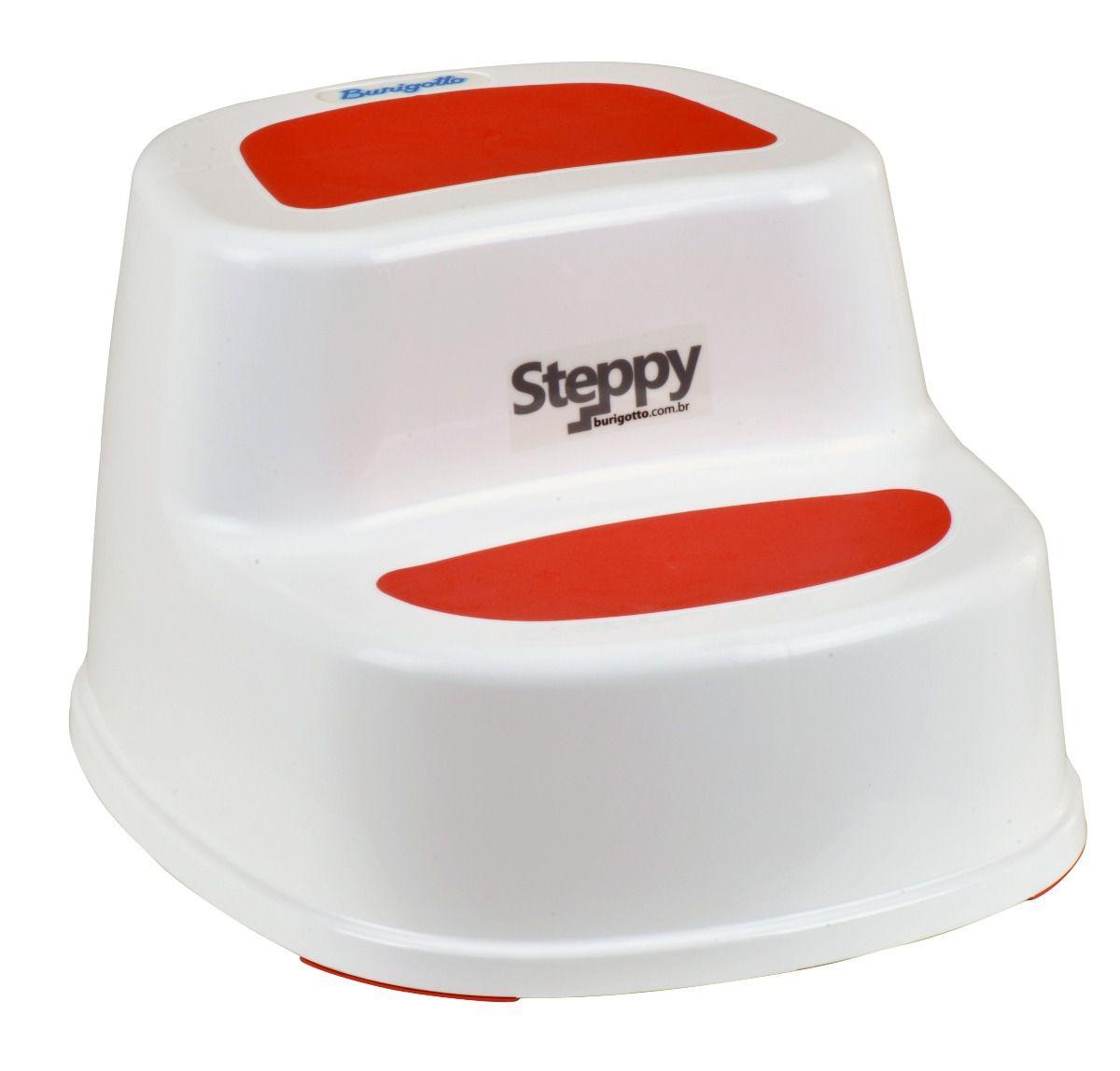 Degrau Steppy Vermelho - Burigotto