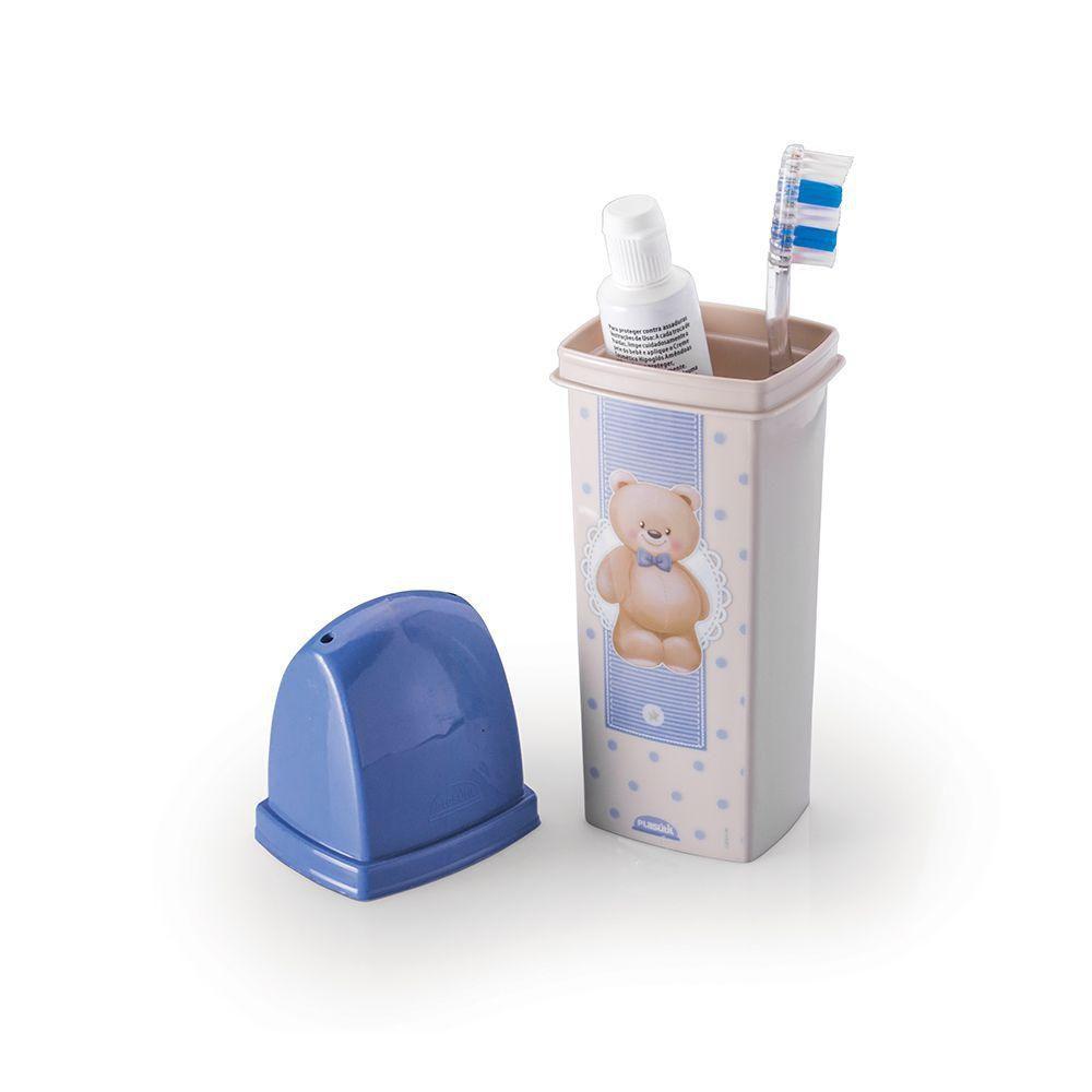 Dental Case Urso Azul - Plasutil Baby REF: 8441