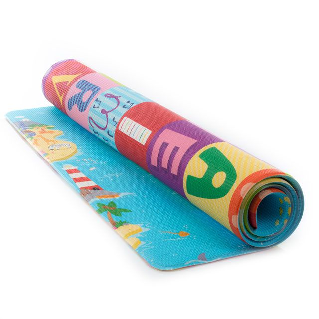 Tapete Baby Play Mat Médio Magical Island 1,85 x 1,25 - Safety 1st