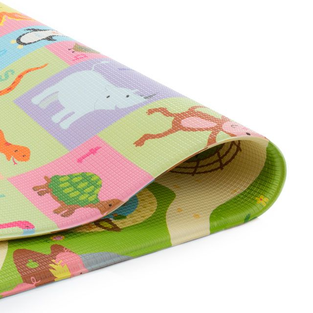 Baby Play Mat Pequeno Busy Farm 1,25 x 1,25 - Safety 1st
