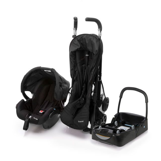 Carrinho Travel System Trend Black - Safety 1st Ref Cax90273