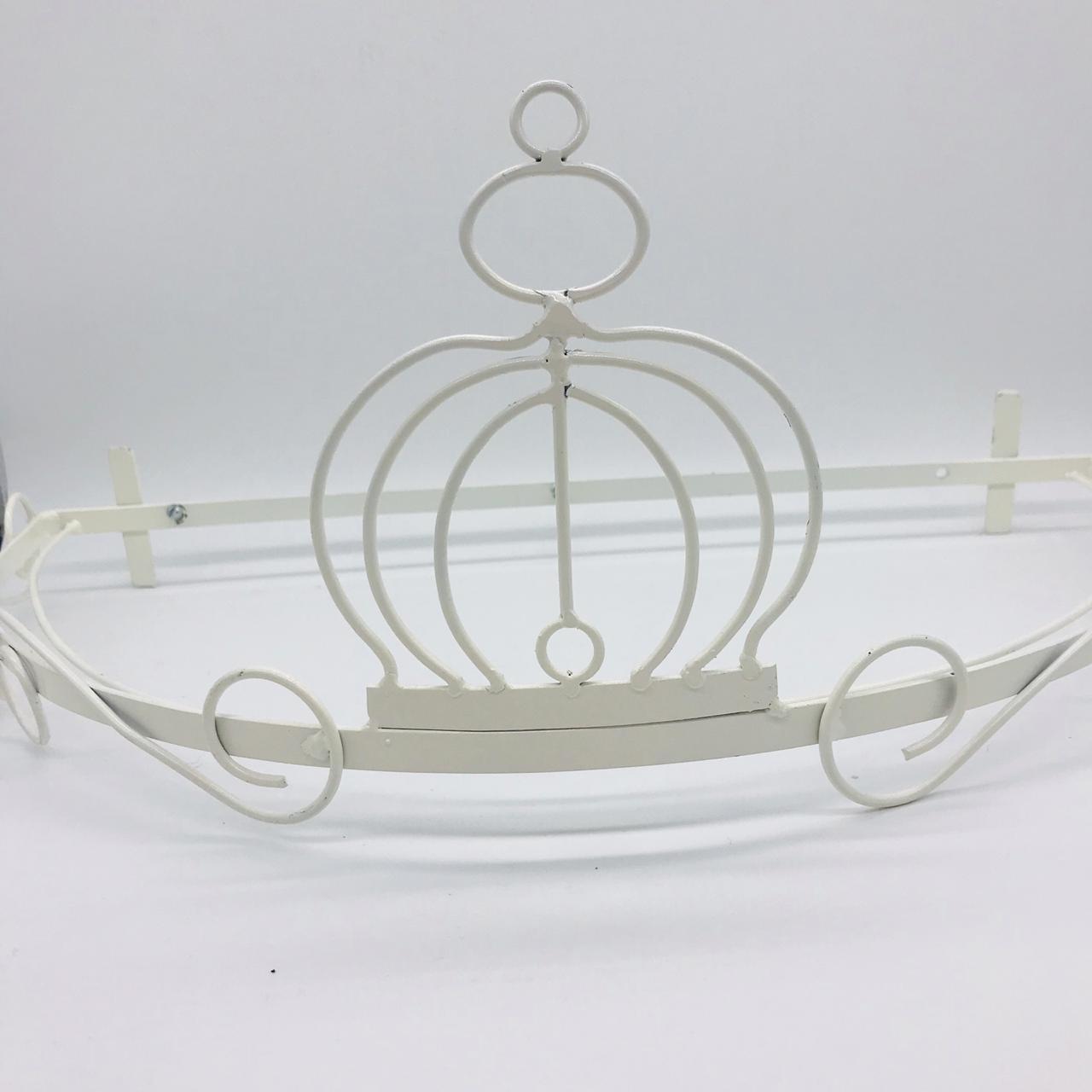Dossel Branco Coroa - Magia e Fantasia Ref 119st 735u