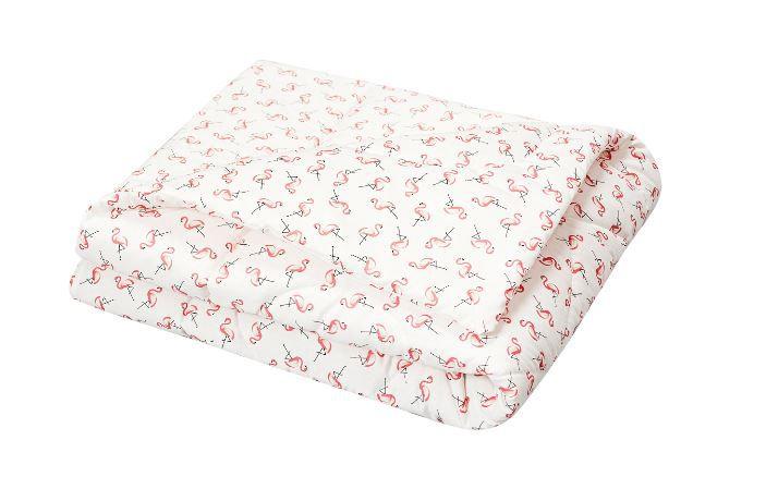 Edredom Estampado Dupla Face Flamingo 1pç - Batistela Ref 02032