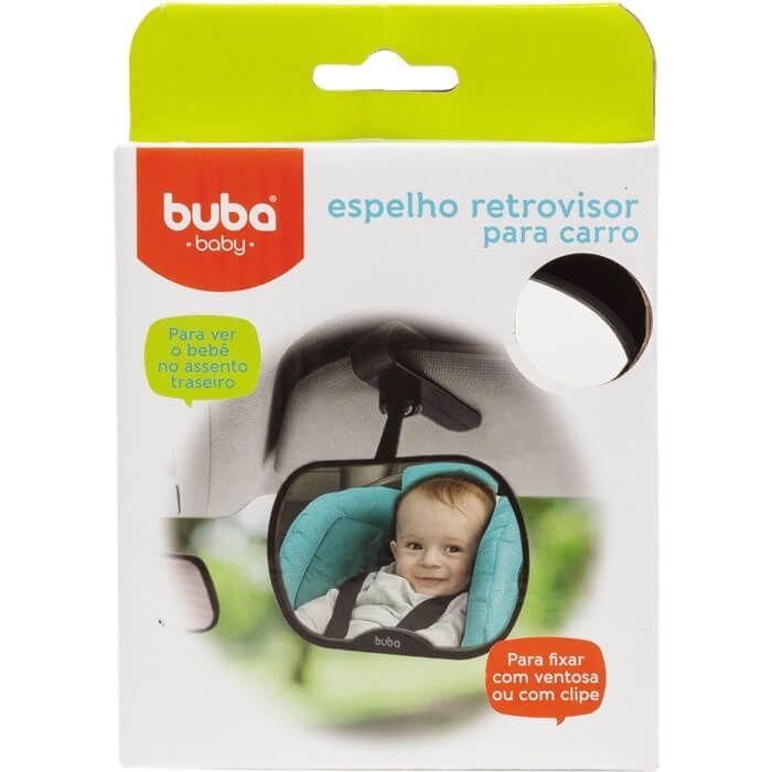 Espelho Retrovisor Para Carro Buba Ref 08772