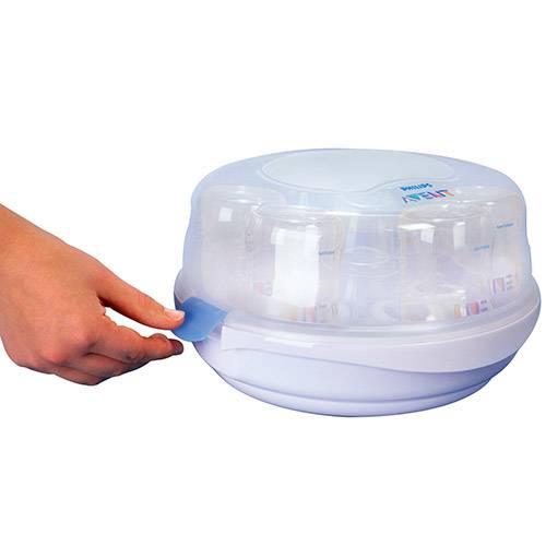 Esterilizador a Vapor de Microondas - Avent