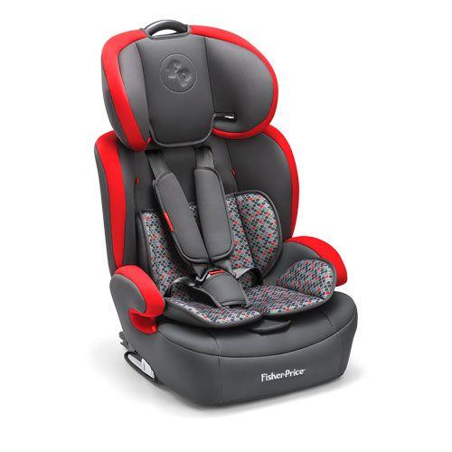 Cadeira Auto Safemax Fix  Vermelho Fisher Price Refbb
