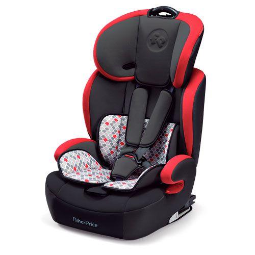 Cadeira Auto Safemax Fix 9-36 Vermelho Fisher Price Refbb563