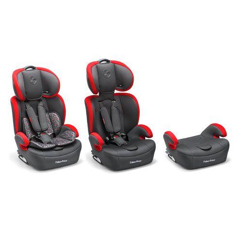 Cadeira Auto Safemax Fix 9-36 Preto - Fisher Price Refbb565