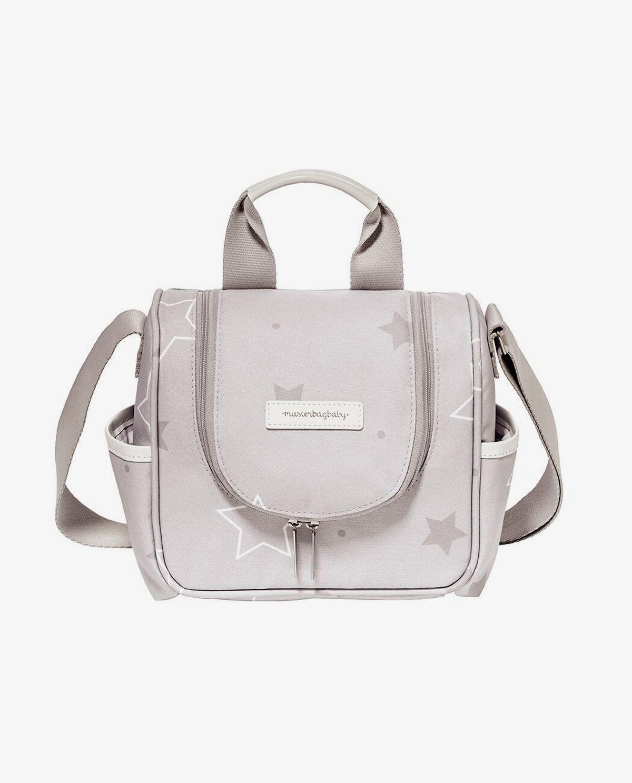 Frasqueira Térmica Emy Cinza Estrelas - Masterbag Ref 12est238