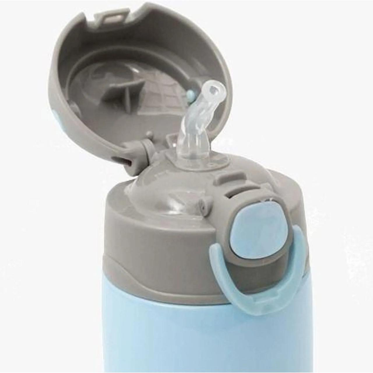 Garrafa Térmica Dupla 400ml Gumy- Azul Buba Ref 12109