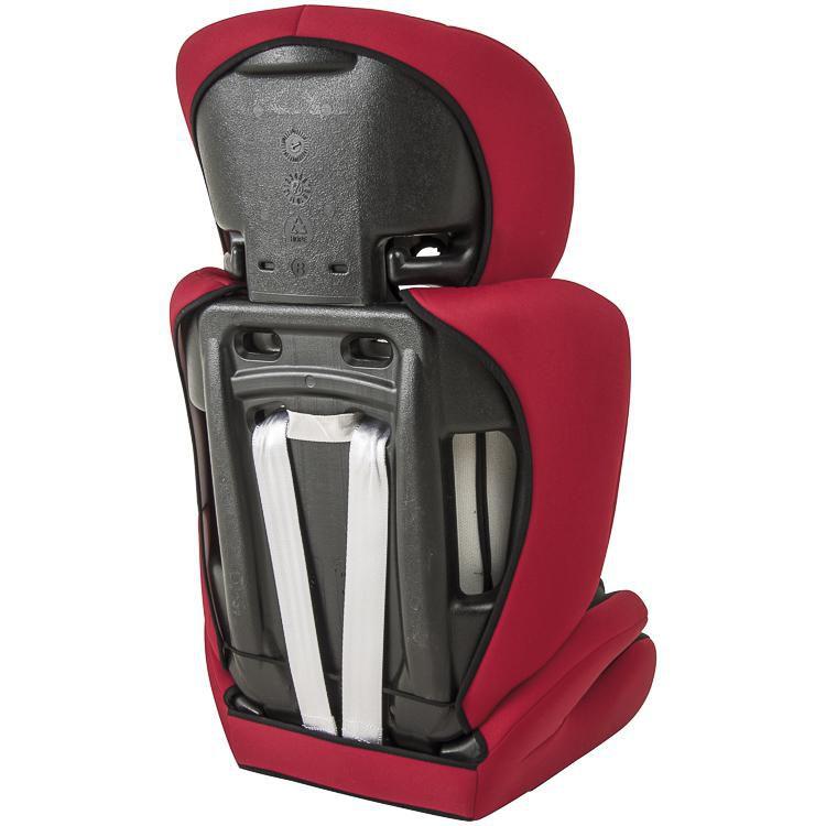 Cadeira Auto Traveller Preto/vermelho - Kiddo Ref 560 pc
