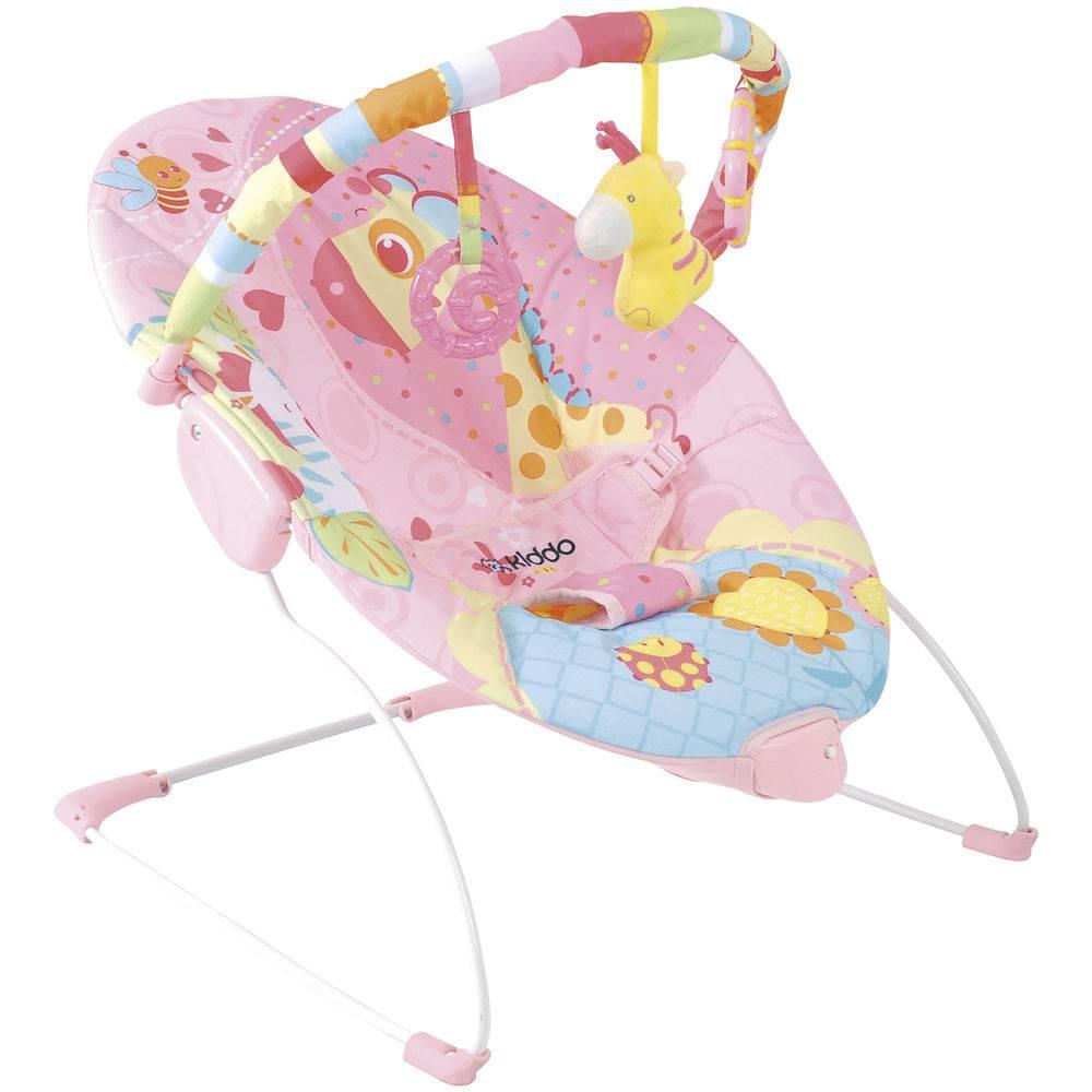 Cadeira Descanso Joy Rosa - Kiddo Ref 1041