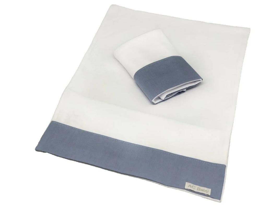Kit 2 Fronhas Antissufocante Azul Diamante - Ac Baby Ref 05378 285U