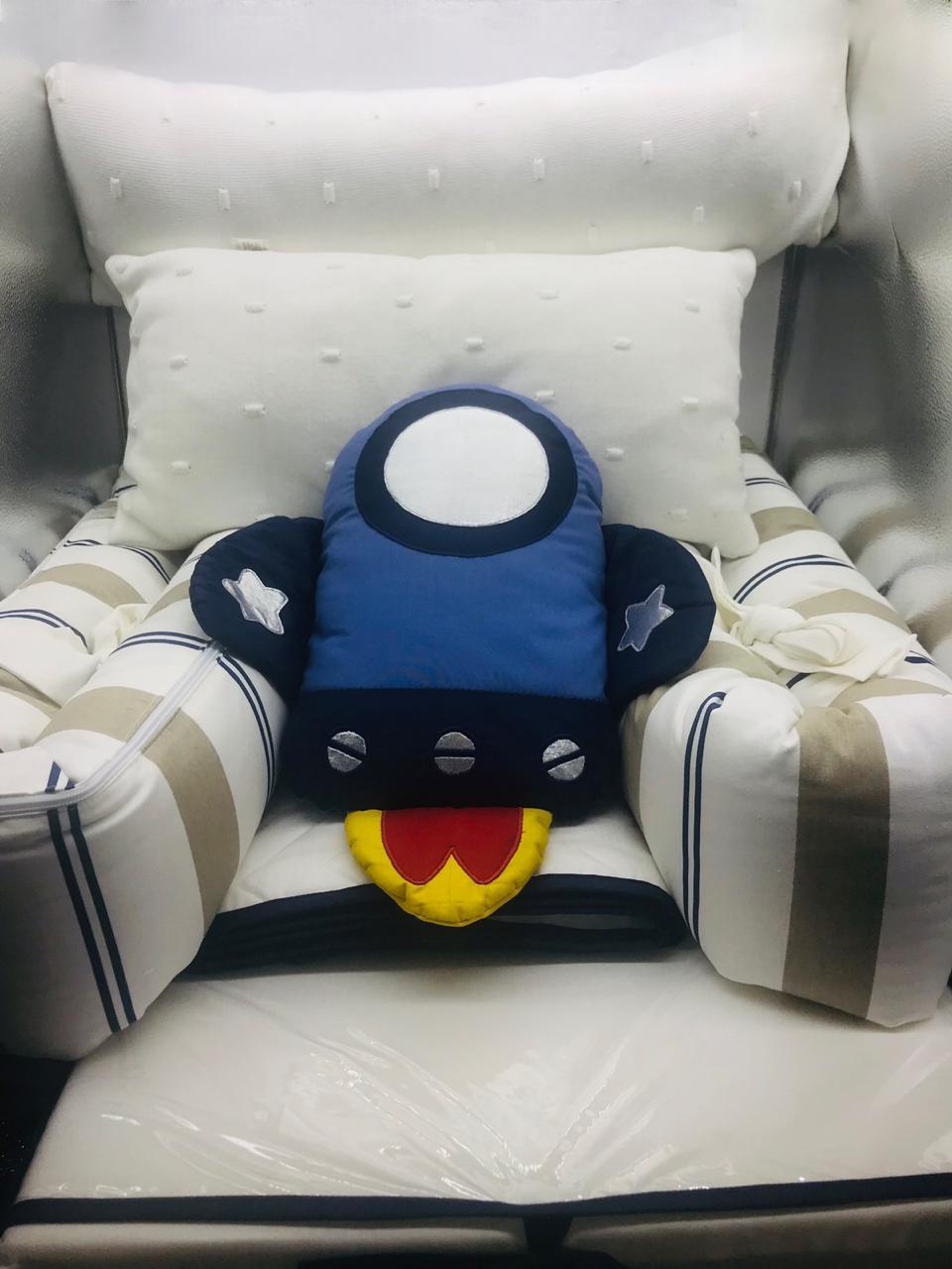Kit Berço Interestelar 7 Pçs - Biah Baby Ref 13000