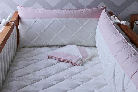 Kit Berço Sunny Basic Rosa - AC Baby Ref 05510 91 u