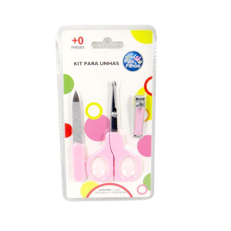 Kit Manicure Rosa - Pais e Filhos Ref 7788