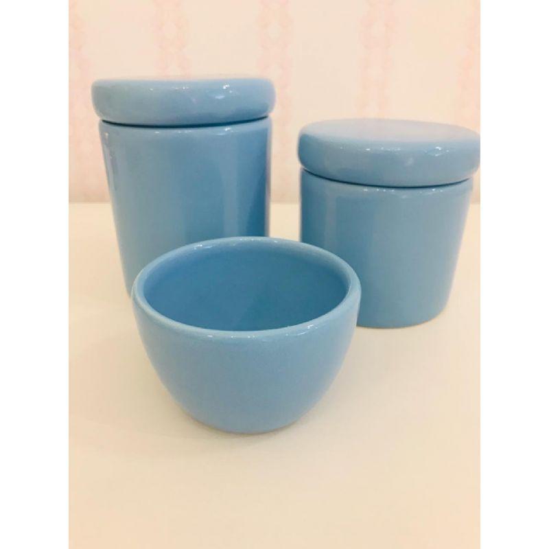 Kit Porcelana Azul Rossi Nieri
