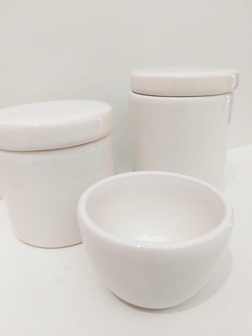 Kit Porcelana Branco