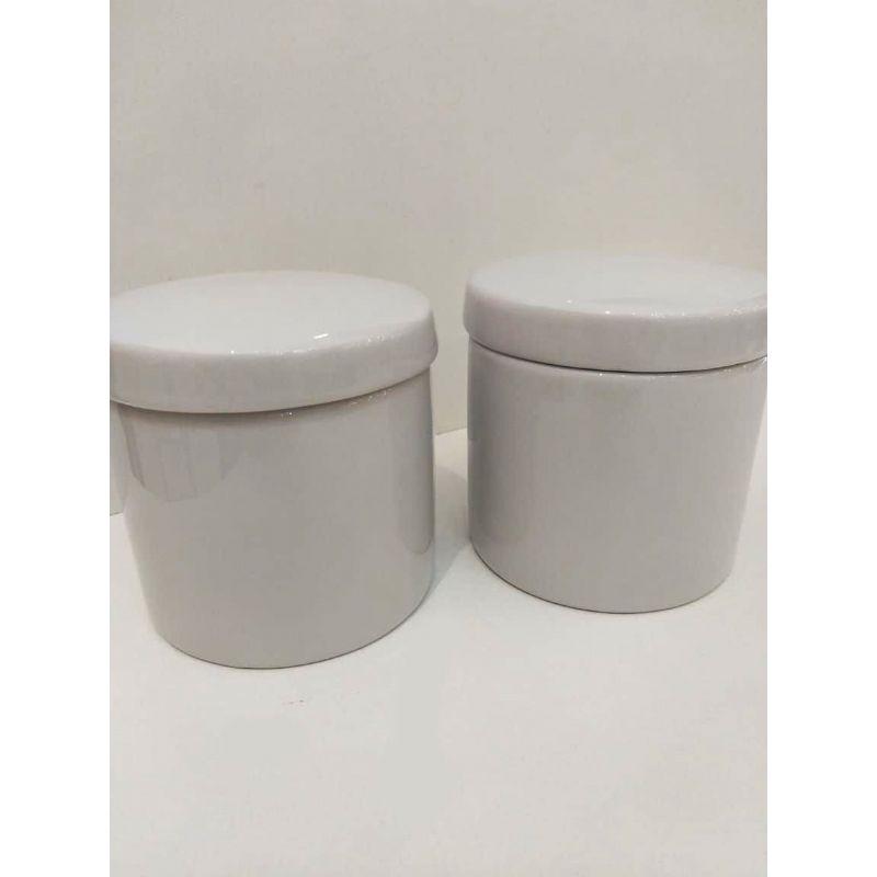 Kit Porcelana Com 2 Peças Branco